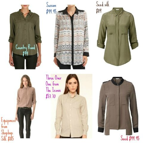Neutral Shirts for Danielle selected by Kimba Likes Styling