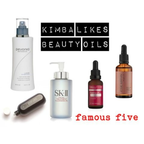 Famous Five Beauty Oils
