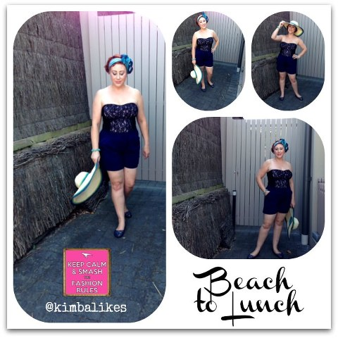 Swimwear as Clothes Beach to Lunch