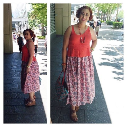 Wardrobe Wednesday Bohemian Traders Freedom Skirt