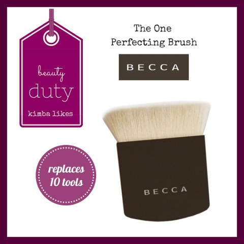 Beauty Duty | BECCA The One Perfecting Brush