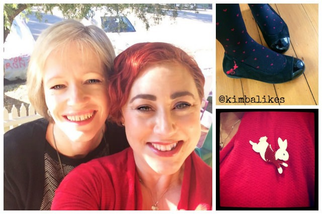 Kimba Likes Weekend Style | Lady in Red
