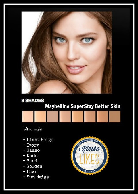 Kimba Likes Maybelline SuperStay Better Skin