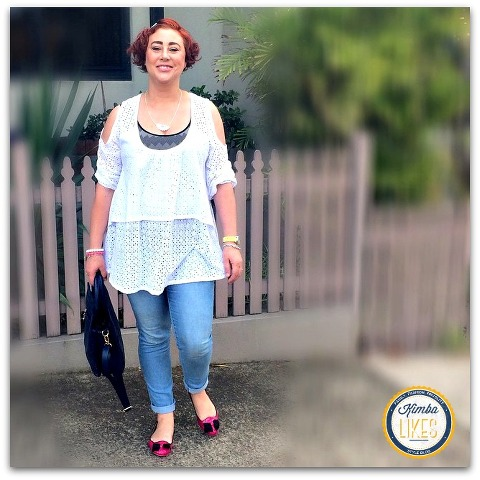 Kimba Likes Denim with a Twist ! I've styled <a href=