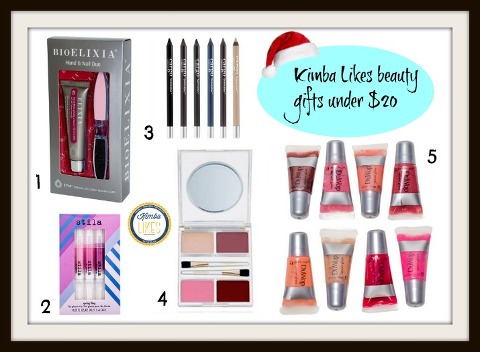 Kimba Likes Christmas Beauty Gifts under $20