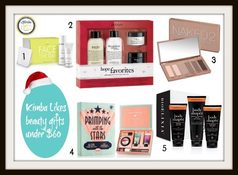 Kimba Likes Christmas Beauty Gifts under $60