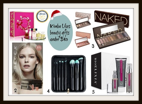 Kimba Likes Christmas Beauty Gifts under $80