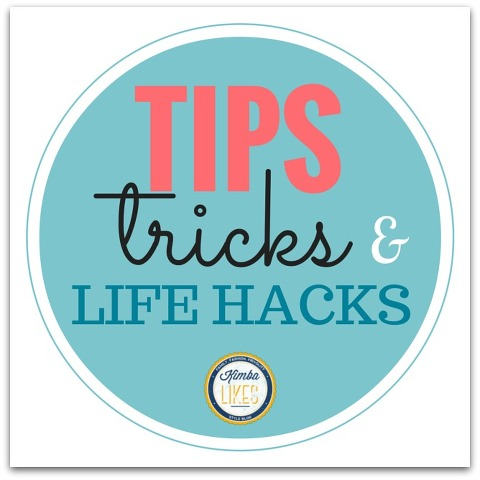 Kimba Likes Life Hacks | tips, tricks and life hacks to make life easier! Find more at kimbalikes.com/lifehacks #kimbalikes #lifehacks #makeuptips #styletips