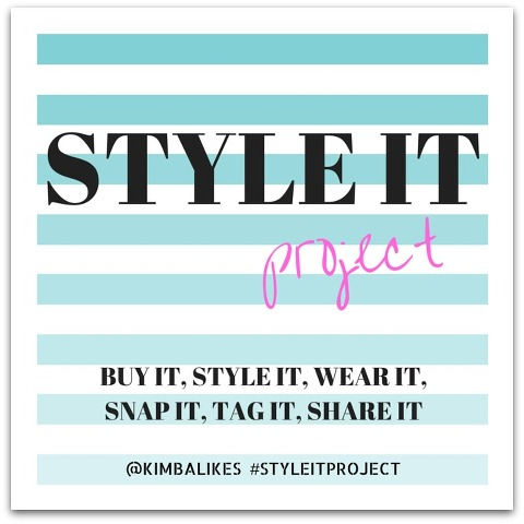 Kimba Likes Style it Project - buy it, style it, wear it, snap it, tag it, share it #kimbalikes #styleitproject