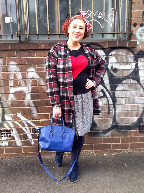 WHAT I WORE | Wearing Tartan #kimbalikes