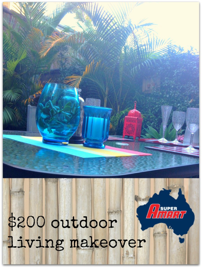 Kimba Likes Super Amart $200 outdoor living makeover