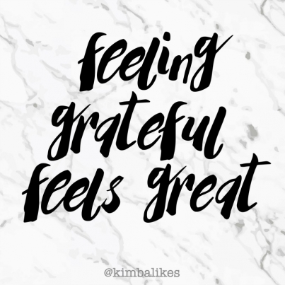 Kimba Likes feeling grateful and I'm sharing why it feels great! #kimbalikes #grateful #blessed #wordstoliveby