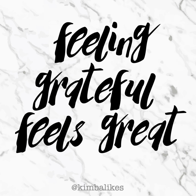 Kimba Likes feeling grateful and I am sharing why it feels great! #kimbalikes #grateful #blessed #wordstoliveby