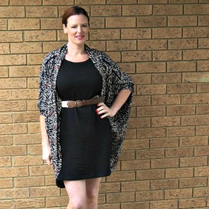 Kimba Likes Flat Bum Mum - a guest post about How to Fake a Waist in a Dress #guestpost
