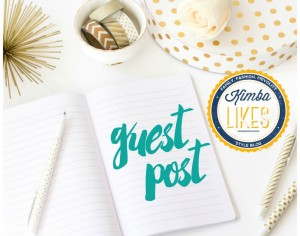 Kimba Likes Guest Posts - a series of guest posts from some of my favourite bloggers