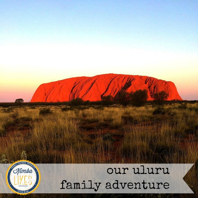 Kimba Likes our Uluru family adventure - Uluru, Kata Tjuta, Sails in the Desert, dot painting class and lots of R&R