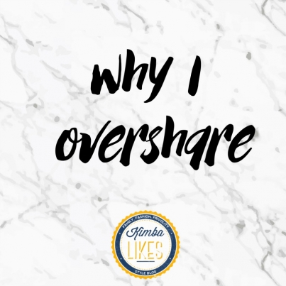 Kimba Likes continuing the conversation and helping each other - why I overshare! | chronic illness, mental health, endometriosis, keeping it real #kimbalikes