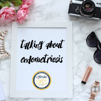 Kimba Likes sharing experiences and talking about issues. I'm sharing how endometriosis affected my life for 30 years, and how I got a whole new life.