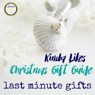 Kimba Likes Christmas Gift Guides - I'm sharing some fabulous last minute gifts