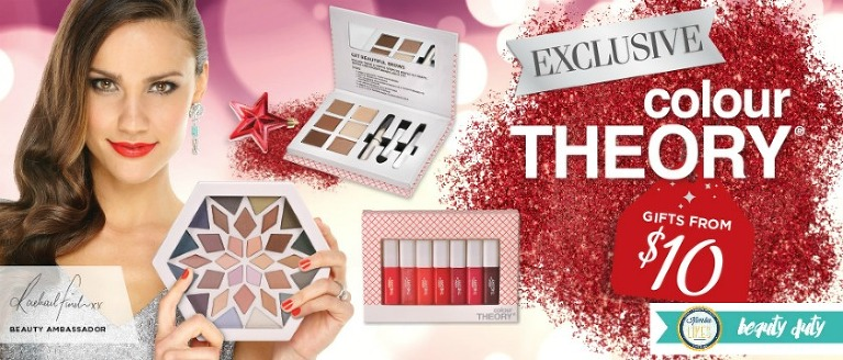 Kimba Likes Colour Theory Christmas Gift Sets - now on sale from $7. Check out my review