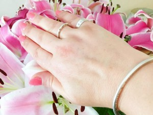 Kimba Likes my week in photos | Honeydew & Violet Organic Halo ring and bangle