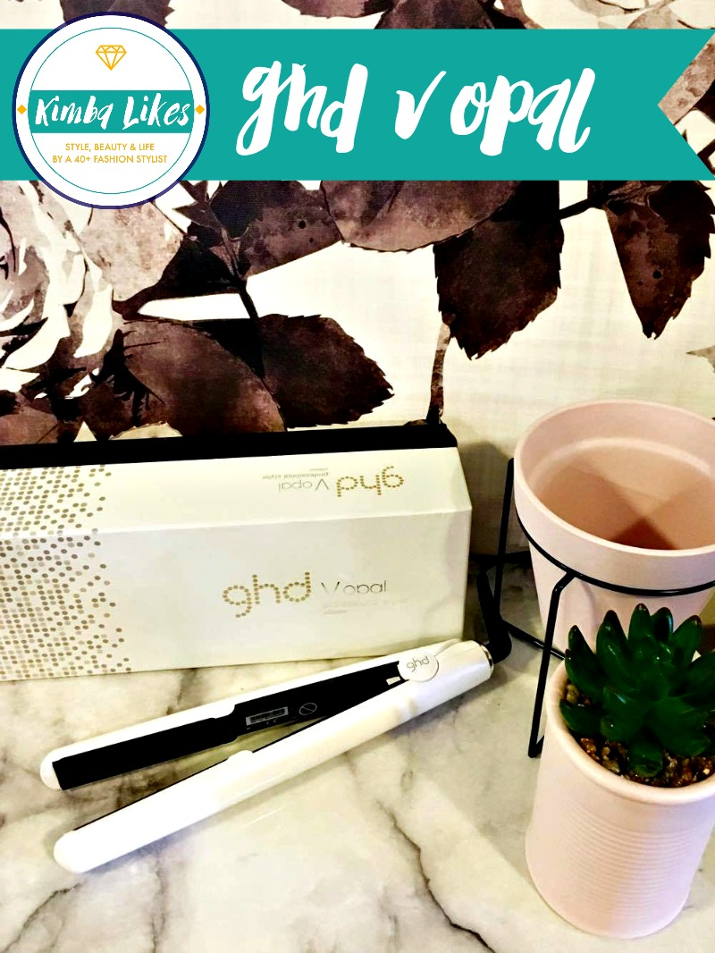 Kimba Likes ghd V Opal review - a curly girlie goes straight plus easy peasy tips for retro cute victory rolls