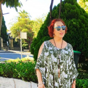 Kimba Likes my week in photos | wearing Mimco sunglasses and necklace, Eb & Ive kaftan