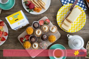 Kimba Likes the Biggest Morning Tea to raise funds for the Cancer Council. Share your morning tea snap on Instagram and tag #BiggestMorningTea #kimbalikesBMT @kimbalikes @cancercounci