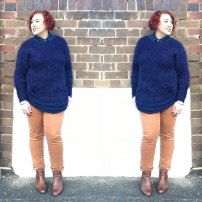 Kimba Likes Winter Style - sharing how I styled one winter knit two ways