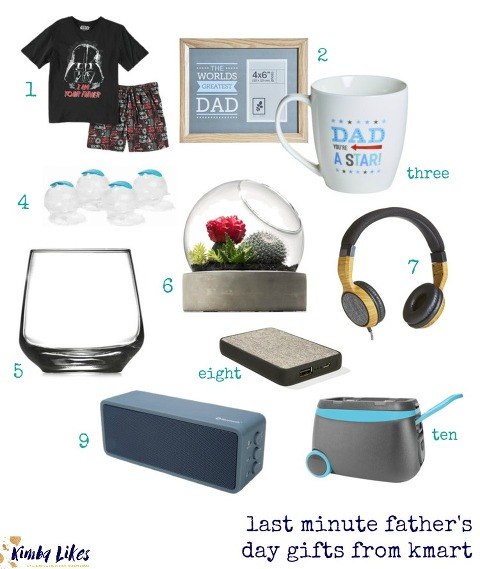 last minute Fathers Day gift ideas from Kmart   Kimba Likes
