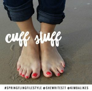 Spring Fling Style with Kimba Likes and She Writes | cuff stuff