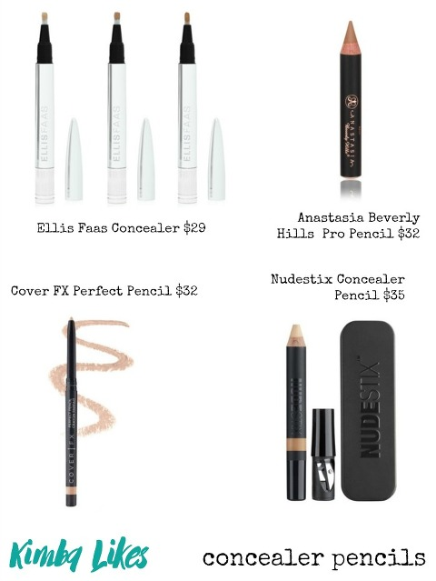 Concealer Pencils perfect for concealer pencil beauty hacks | Kimba Likes