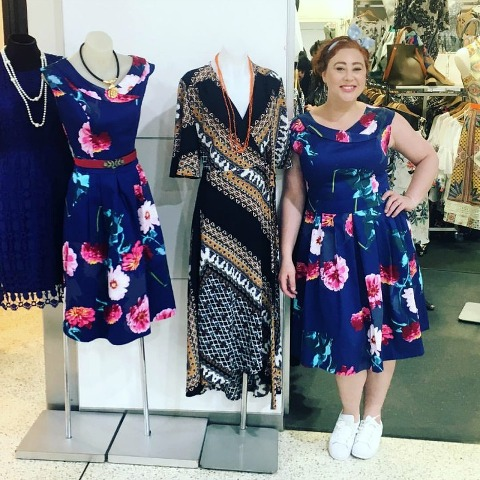 Kimba Likes Frocktober 2016 | wearing Timeless by Vanessa Tong from Liana, Leichhardt Marketplace