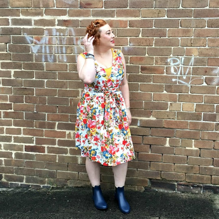Autumn Style File   one dress two ways with Kimba Likes
