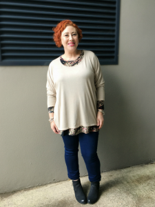 Draxley Tunic, Ember Tunic and Stretch Denim Jeans