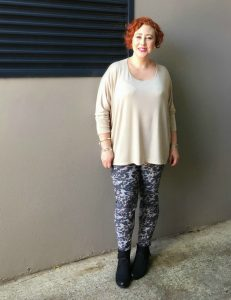 Draxley Tunic and Rupert Printed Pants