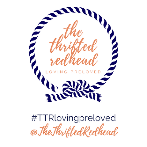 The Thrifted Redhead | loving preloved