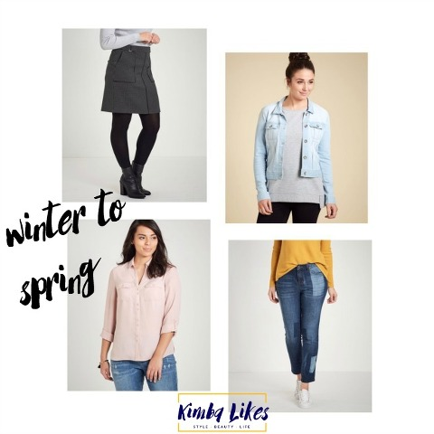 Kimba Likes four pieces for winter style to spring style