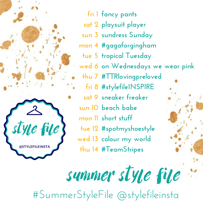 Kimba Likes Summer Style File   14 day style challenge
