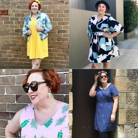 Kimba Likes Friday Faves | favourite February outfits by The Thrifted Redhead