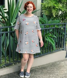 What Kimba Likes wore for Autumn Style File #TeamStripes