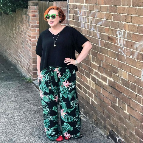 what The Thrifted Redhead wore for Autumn Style File | Witchery top