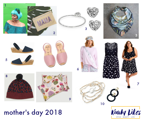 Kimba Likes Mothers Day Gift Guide 2018