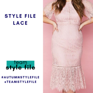 style file LACE for March style challenge