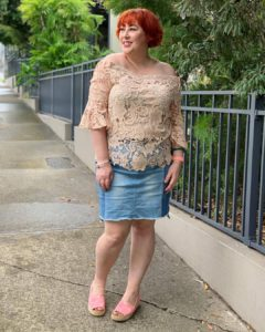 What I wore   #SummerStyleFile February challenge